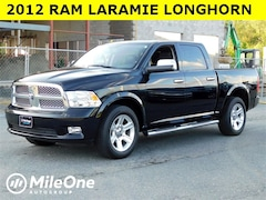 2012 Ram 1500 Laramie Longhorn/Limited Edition 4x4 Crew 5.7ft Truck Crew Cab