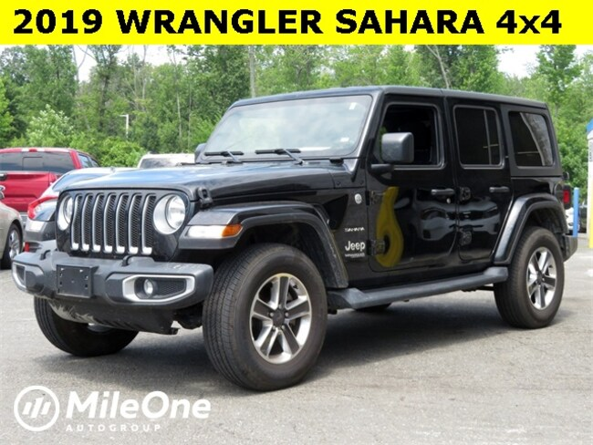 Used 2019 Jeep Wrangler Sahara 4x4 SUV for sale in Baltimore