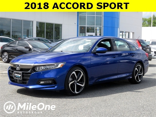 Used 2018 Honda Accord For Sale At Mileone Autogroup Vin