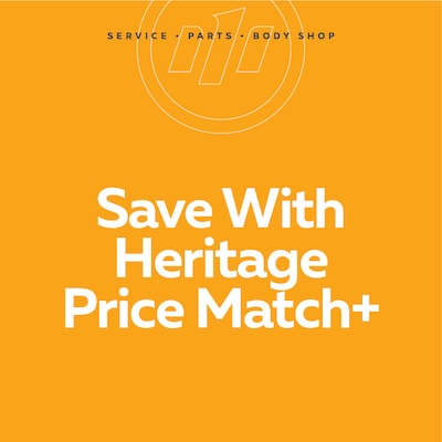 Save With Heritage Price Match+