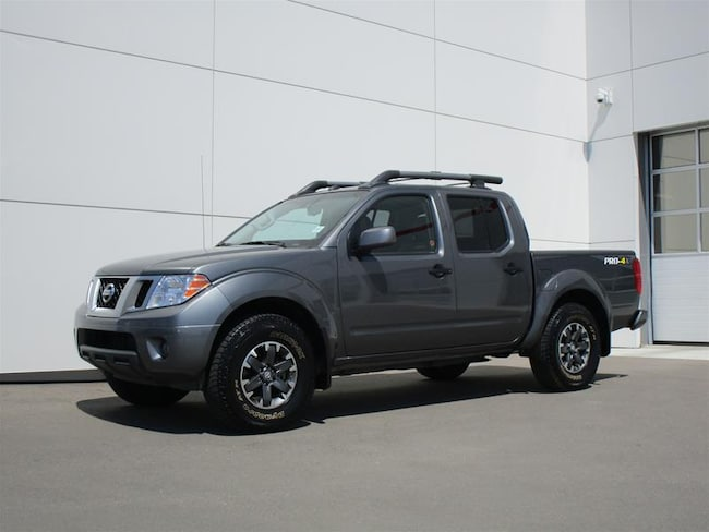 2019 Nissan Frontier Crew Cab PRO-4X 4x4 at Leather Package!! Truck Crew Cab