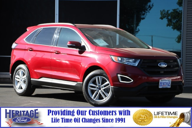 Used 2015 Ford Edge SEL SEL AWD for sale in Modesto, CA
