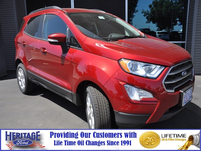 New Ford 2018 Ford EcoSport SE SE FWD for sale in Modesto, CA