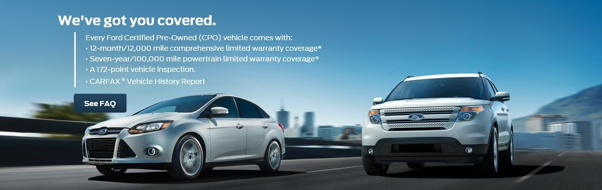 Ford Certified Pre Owned Near Stockton Heritage Ford