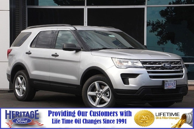 Used 2018 Ford Explorer Base Base 4WD for sale in Modesto, CA