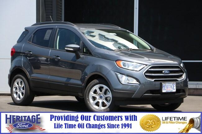 New Ford 2019 Ford EcoSport SE SE FWD for sale in Modesto, CA