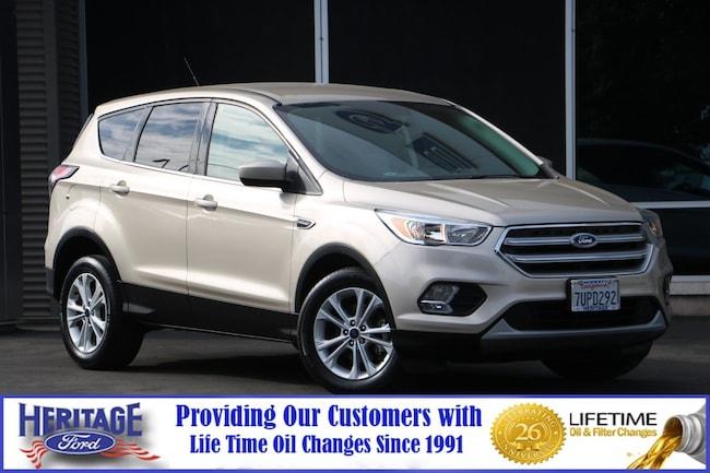Certified pre-owned 2017 Ford Escape SE SE FWD for sale in Modesto, CA