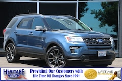 Certified pre-owned 2018 Ford Explorer XLT XLT FWD for sale in Modesto, CA