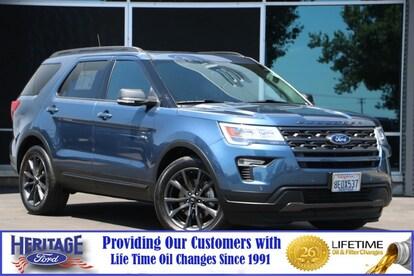Syncmyride Com Register Ford >> Used 2018 Ford Explorer For Sale Modesto Ca 1fm5k7dh3jgb57079