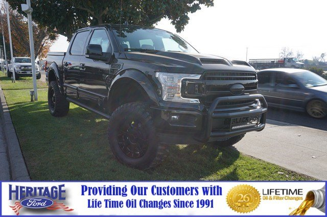 2018 Ford F-150 LARIAT (BLACK OPS) Truck SuperCrew Cab
