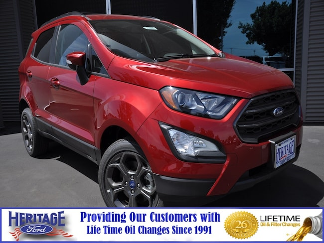 New Ford 2018 Ford EcoSport SES SES 4WD for sale in Modesto, CA