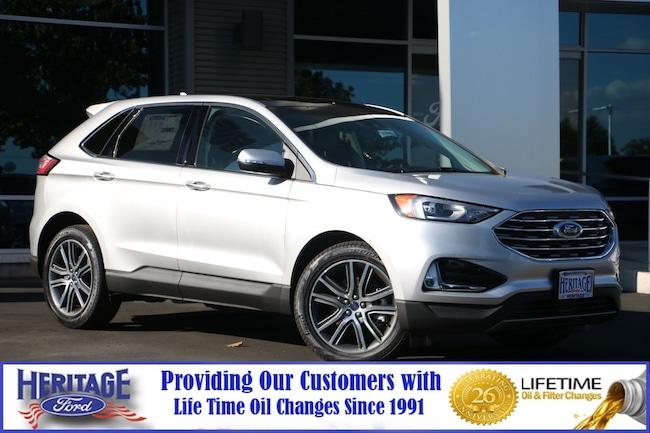 New Ford 2019 Ford Edge Titanium Titanium AWD for sale in Modesto, CA