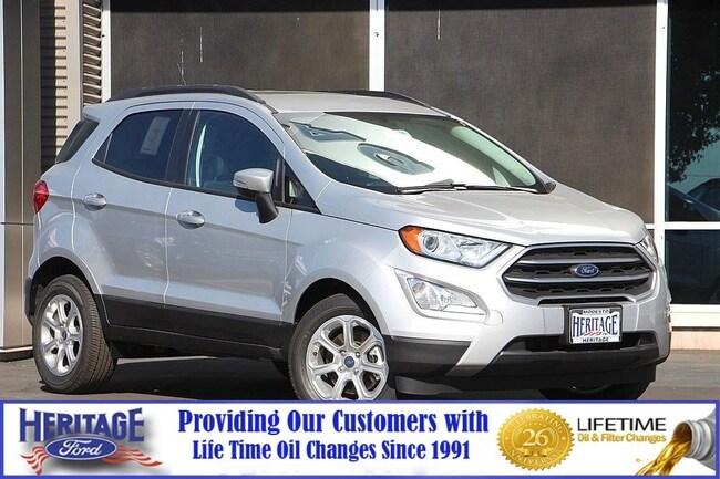 New Ford 2018 Ford EcoSport SE SE FWD for sale in Modesto, CA
