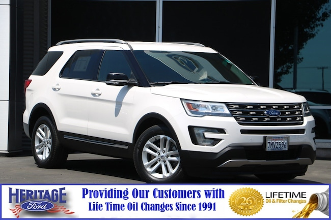 Certified pre-owned 2016 Ford Explorer XLT FWD  XLT for sale in Modesto, CA