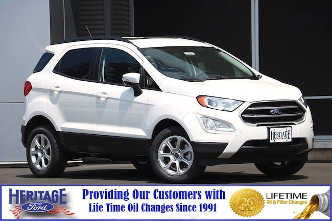 New Ford 2018 Ford EcoSport SE SE 4WD for sale in Modesto, CA