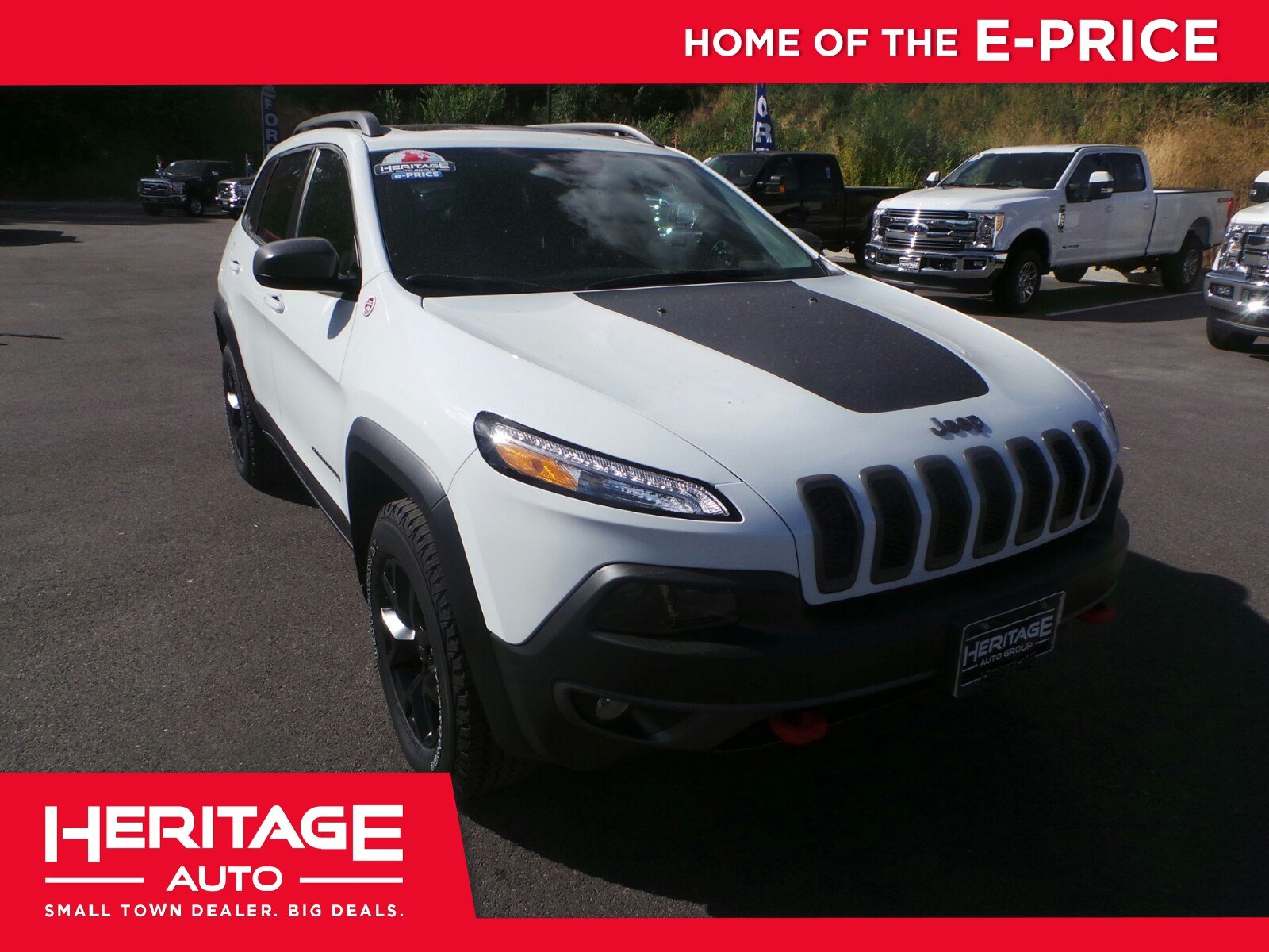 2017 Jeep Cherokee Trailhawk Trailhawk 4x4 *Ltd Avail*