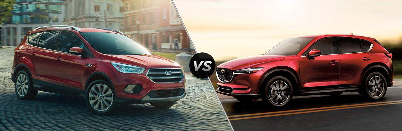 2018 Ford Escape vs 2018 Mazda CX-5   Heritage Ford