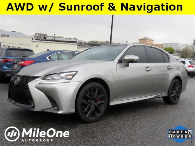 Used 2018 LEXUS GS 350 For Sale at Heritage FIAT Owings
