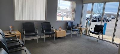 Service Waiting Area