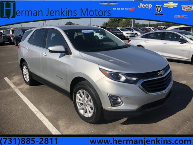Certified Pre-Owned 2018 Chevrolet Equinox LT w/1LT SUV for sale in Union City, TN