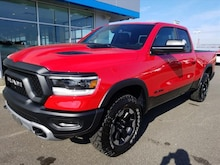 2019 Ram All-New 1500 REBEL QUAD CAB 4X4 6'4 BOX Quad Cab