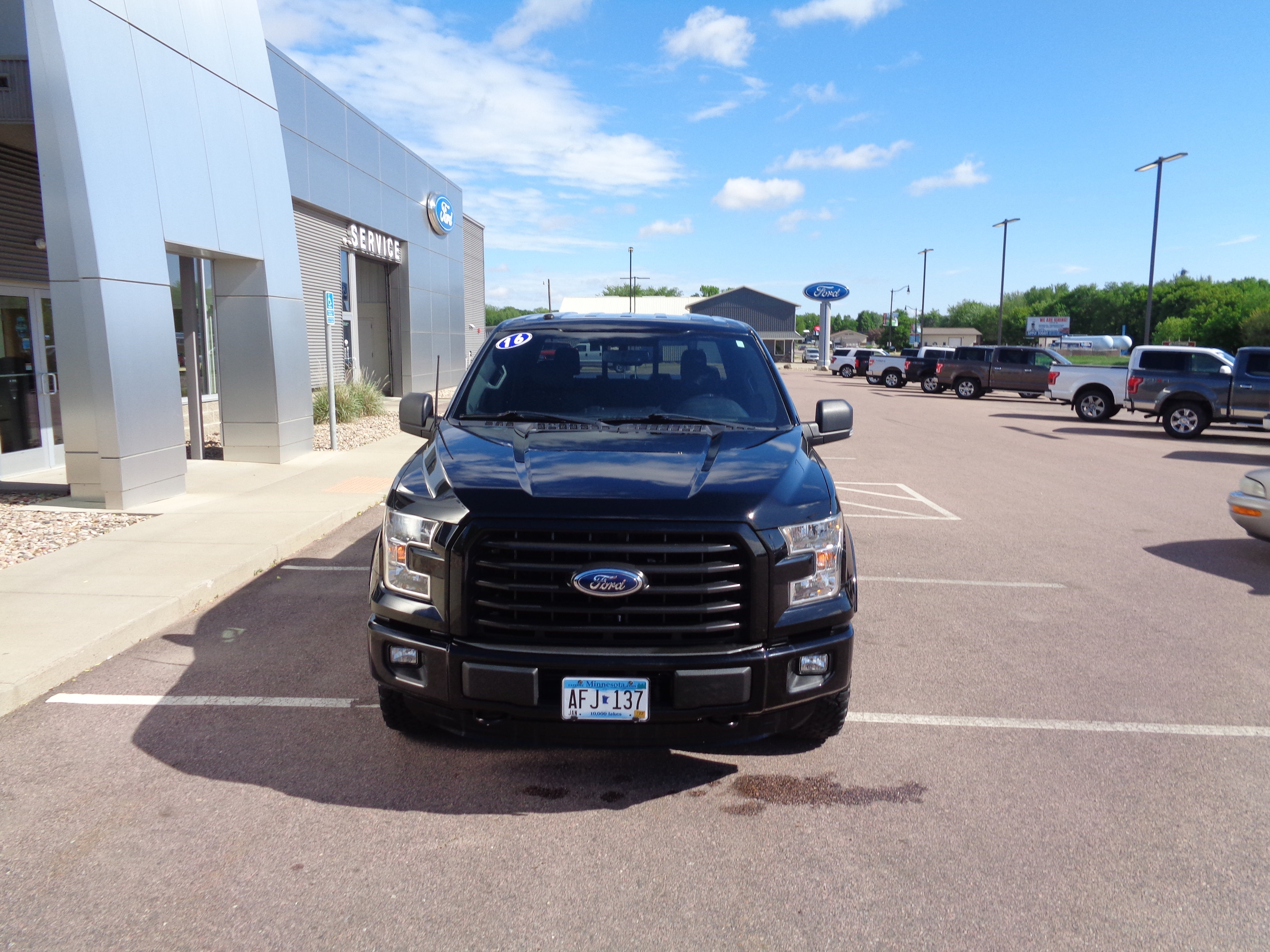 Used 2016 Ford F-150 XLT with VIN 1FTEW1EG8GKD56081 for sale in Luverne, Minnesota
