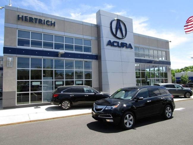 2012 Acura MDX MDX with Technology and Entertainment Packages SUV