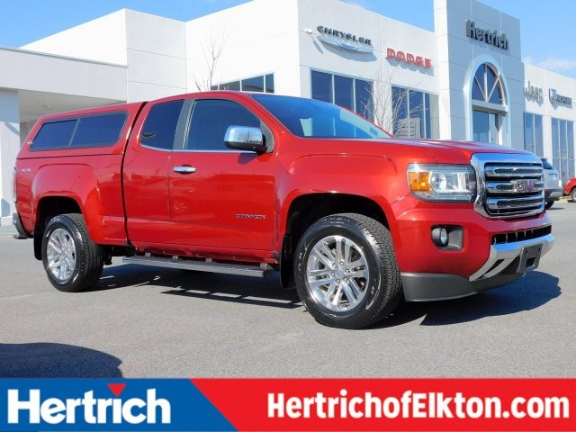 2015 GMC Canyon SLT Truck Extended Cab