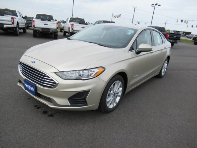 2019 Ford Fusion Hybrid SE Hybrid Advanced Technology PKG Sedan