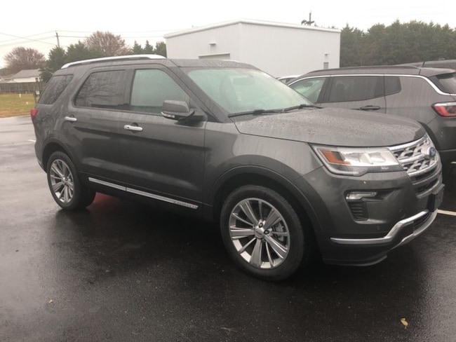2018 Ford Explorer Limited Limited 4X4 Safe AND Smart Advanced Tech PKG SUV