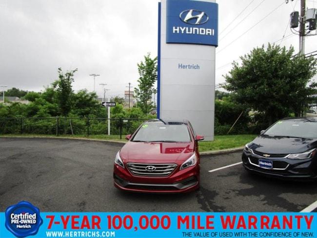 2016 Hyundai Sonata Limited w/PZEV Sedan