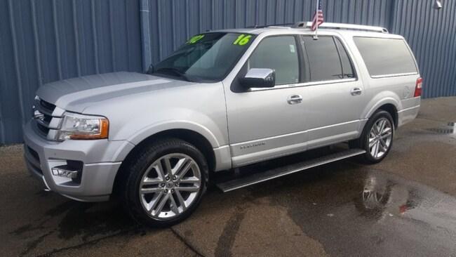 2016 Ford Expedition EL Platinum SUV