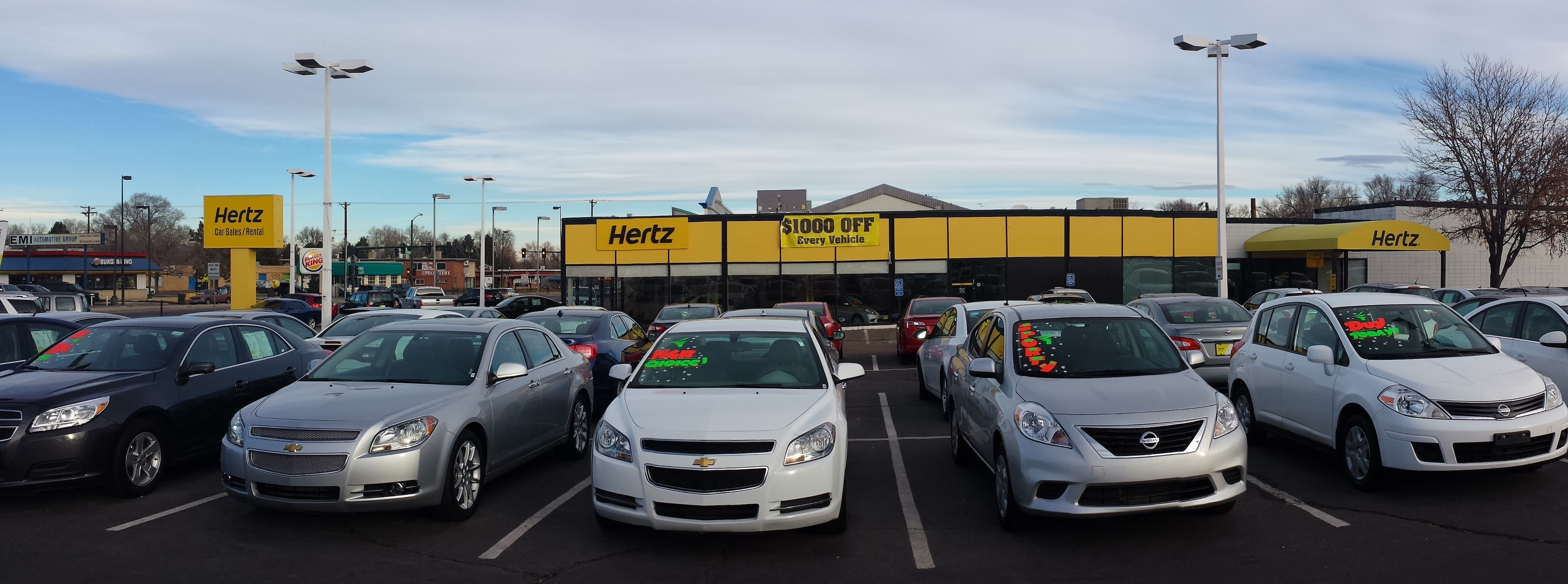 Hertz Car Dealership Near Me