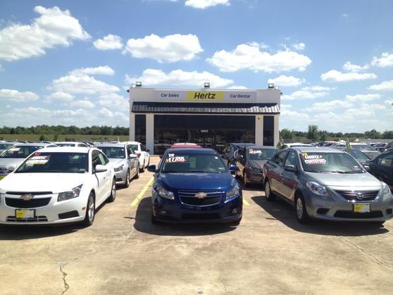 Hertz Rental Car Sales Houston