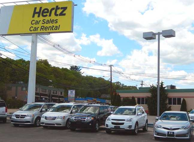 Can You Trade In A Vehicle At Hertz Car Sales