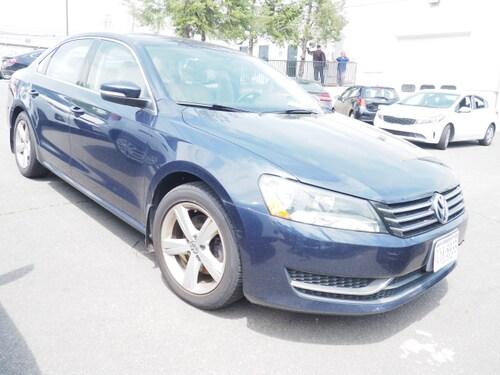 2013 Volkswagen Passat SE Pzev Sedan