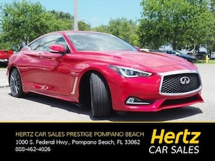 2017 INFINITI Q60 Red Sport 400 Coupe