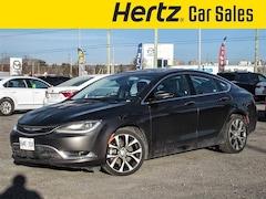 2016 Chrysler 200 C, V6, Sunroof, Navigation, Leather Sedan