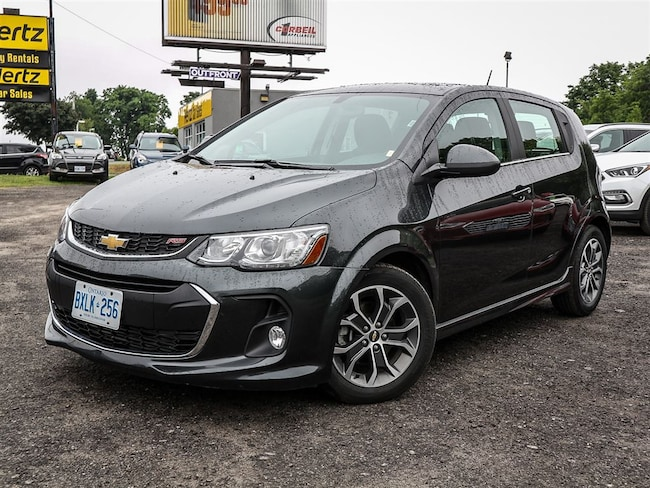 2017 Chevrolet Sonic LT Hatch, TRUE NORTH EDITION, Sunroof, Remote Star Hatchback
