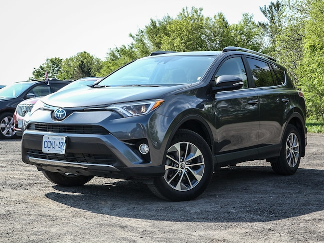 2017 Toyota RAV4 HYBRID LE+, AWD, Push Button Start, Power Grp SUV