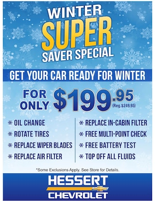 Winter Super Savings Special
