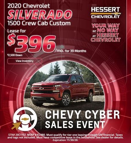 2020 Chevy Silverado   Lease Offer