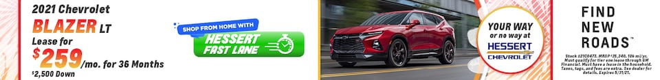 New 2021 Chevrolet Blazer | Lease