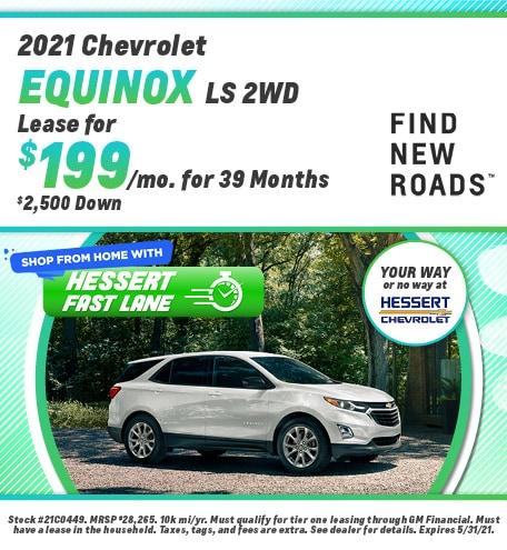 New 2021 Chevrolet Equinox | Lease