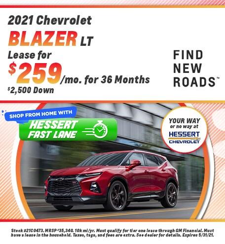 New 2021 Chevrolet Blazer | Lease