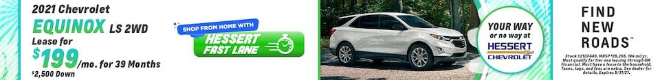 New 2021 Chevrolet Equinox   Lease