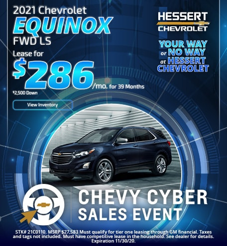 2021 Chevy Equinox   Lease Offer