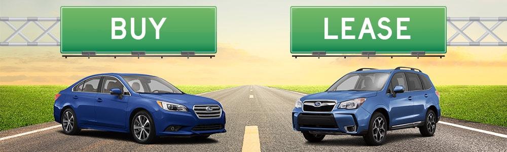 Buy Or Lease Car Financing Heuberger Subaru