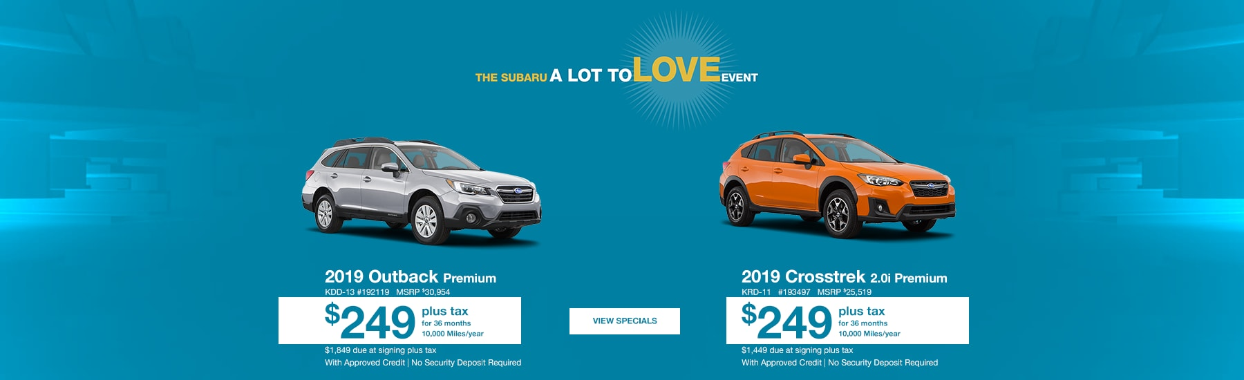 New & Used Subaru Sales in Colorado Springs CO | Heuberger Subaru