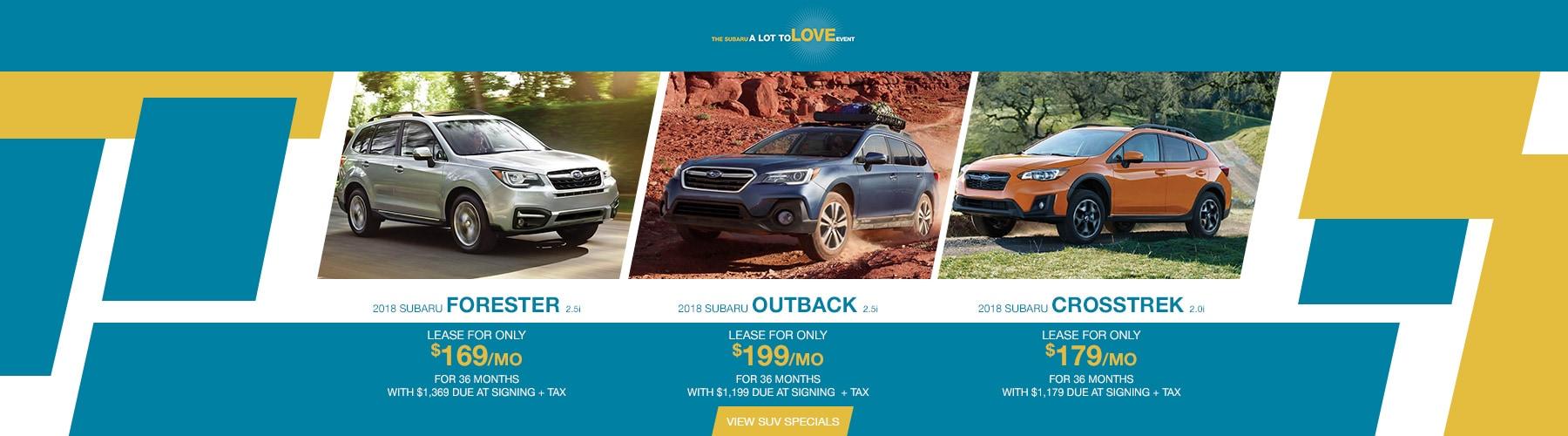 New & Used Subaru Sales in Colorado Springs CO   Heuberger Subaru